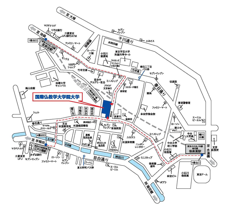 新校舎地図